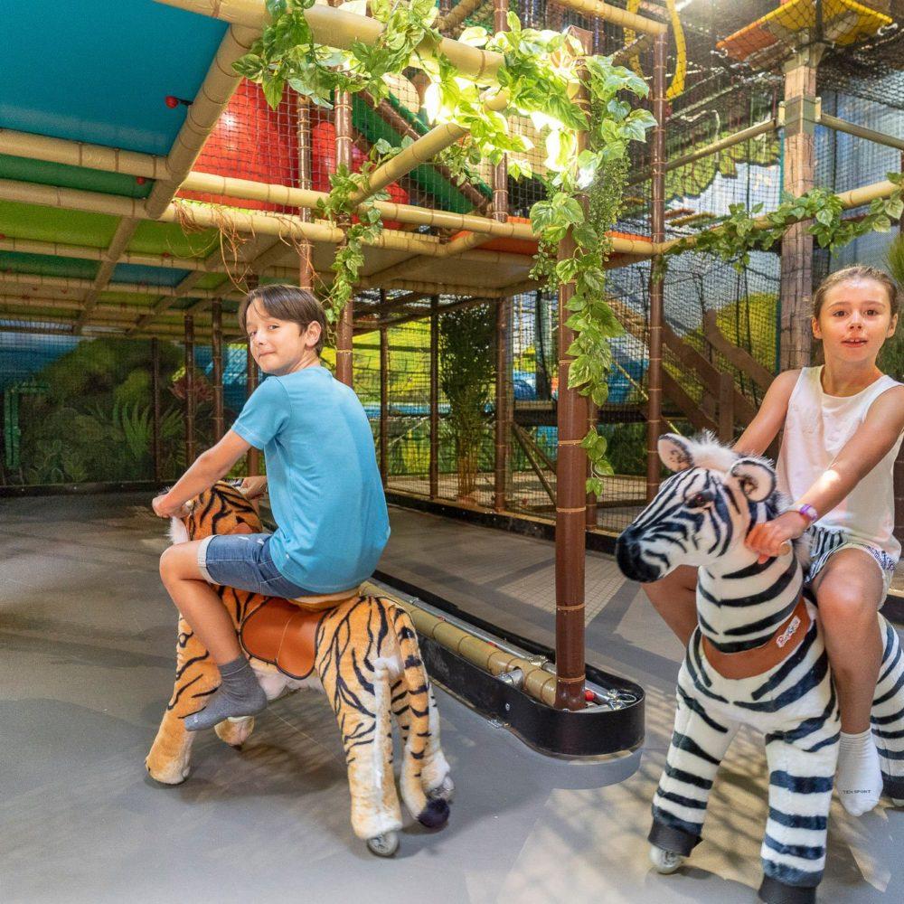 Aire De Jeux Pour Enfants Pandaventure Park Parc Aventure A Benodet 29